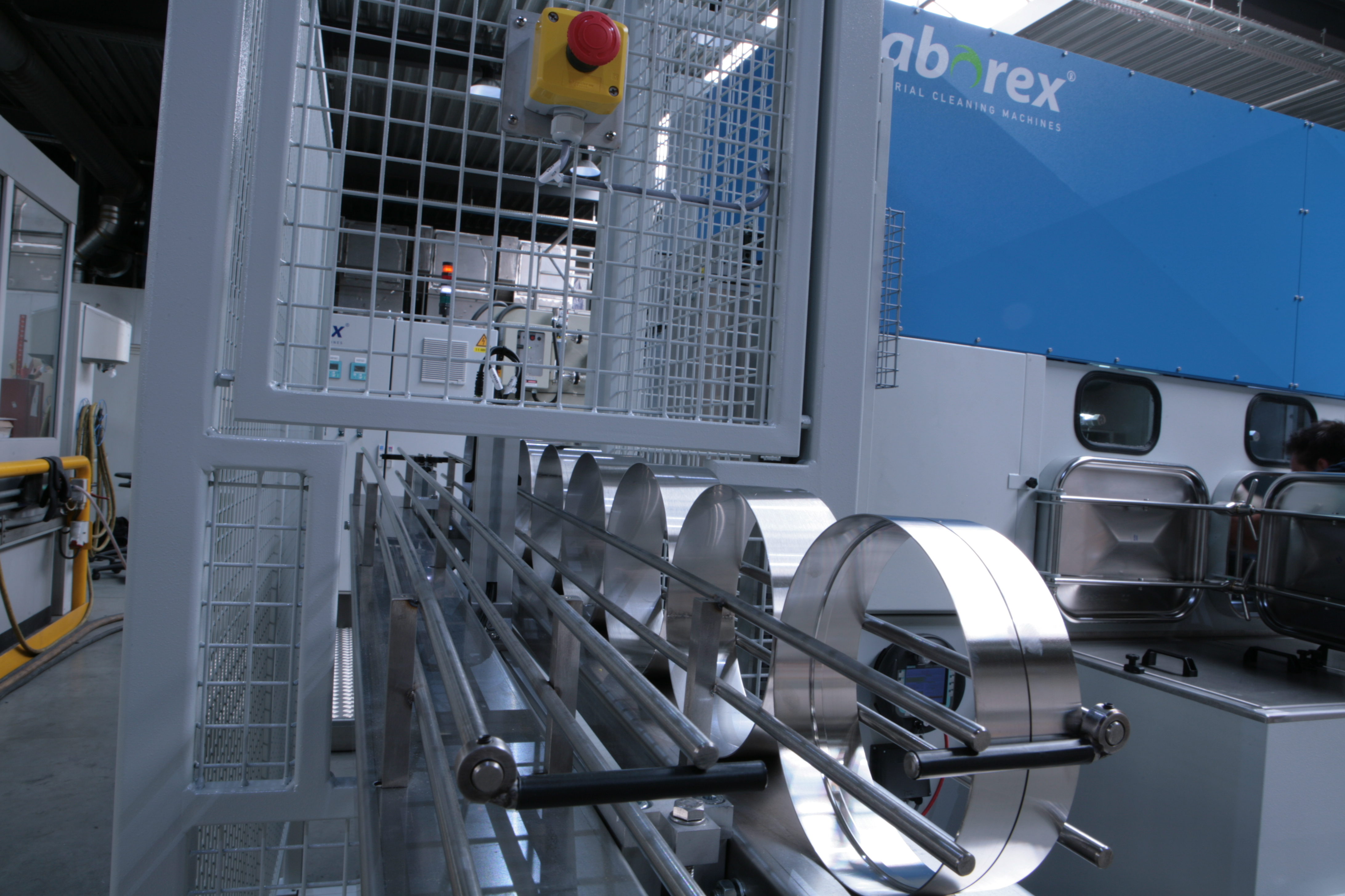 Continous Cleaning Systems Laborex